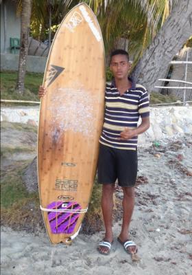 Frantzy Andris - Haiti